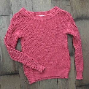 MINNIE ROSE PULLOVER SWEATER 100% COTTON XS